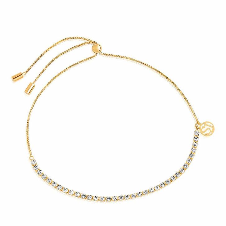 bracelets, Sif Jakobs Jewellery, Ellera Tennis Bracelet 18K Yellow Gold Plated