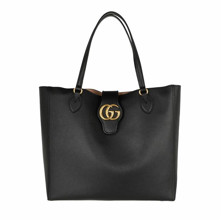 Handtasche, Gucci, Dhalia Tote Bag Leather Black