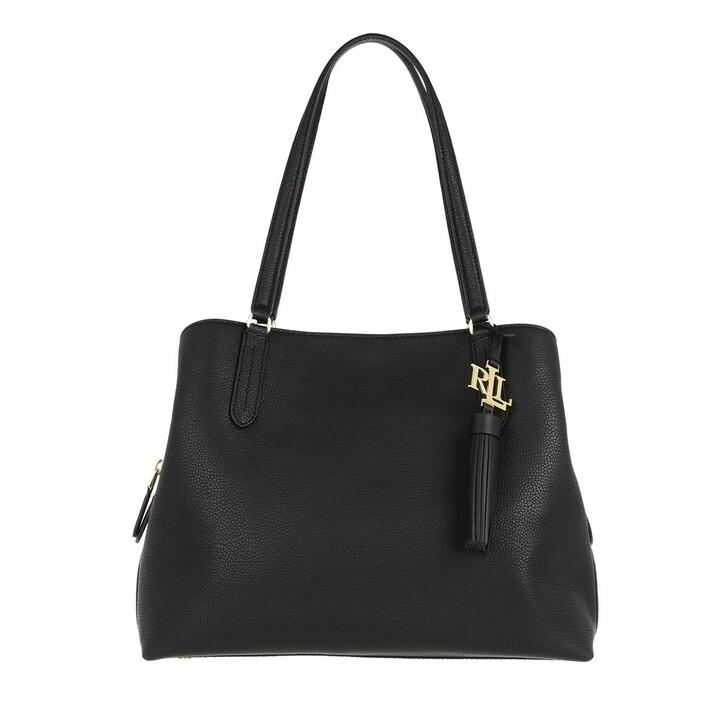 Handtasche, Lauren Ralph Lauren, Quinn 34 Shoulder Bag Large Black
