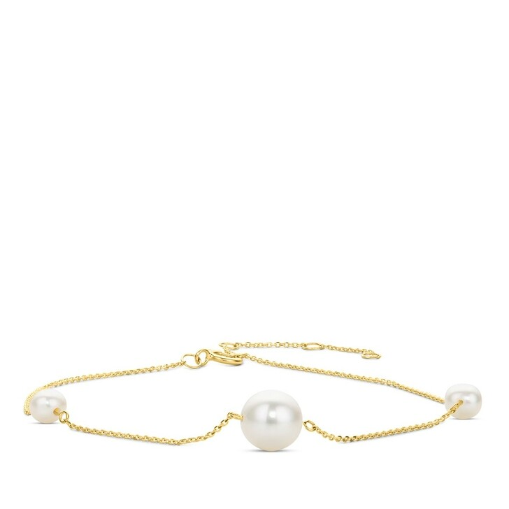 Armreif, DIAMADA, 14KT (585) Pearl Bracelet Yellow Gold