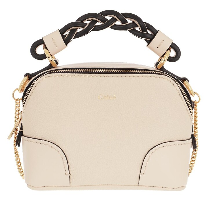 Handtasche, Chloé, Shoulder Bag Leather Beige