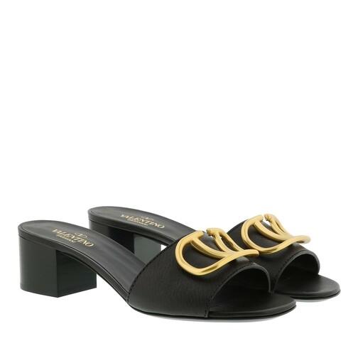 valentino garavani -  Pumps & High Heels - V Pumps Leather - in schwarz - für Damen
