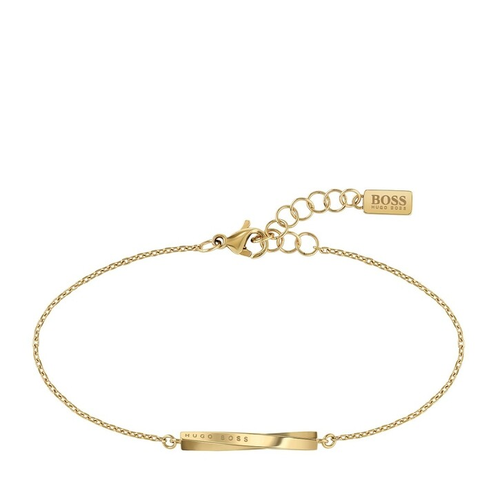 Armreif, Boss, Signature Bracelet Yellow Gold