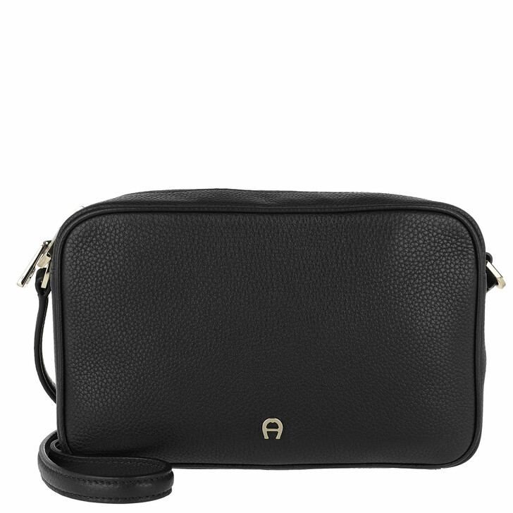 Handtasche, AIGNER, Amy Handle Bag Black