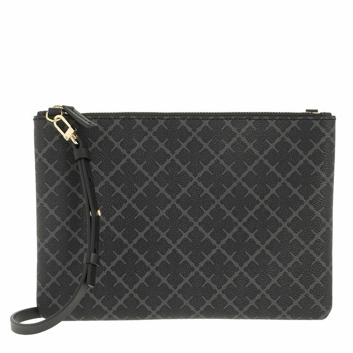 bags, By Malene Birger, Ivy Purse Pvc Purse Wallet  Charcoal