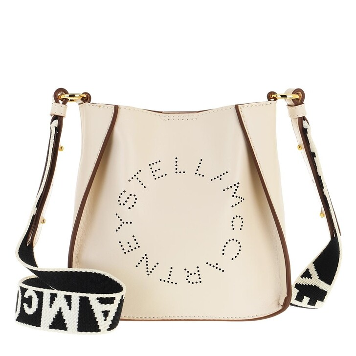 Handtasche, Stella McCartney, Eco Soft Small Hobo Bag Nappa Pure White