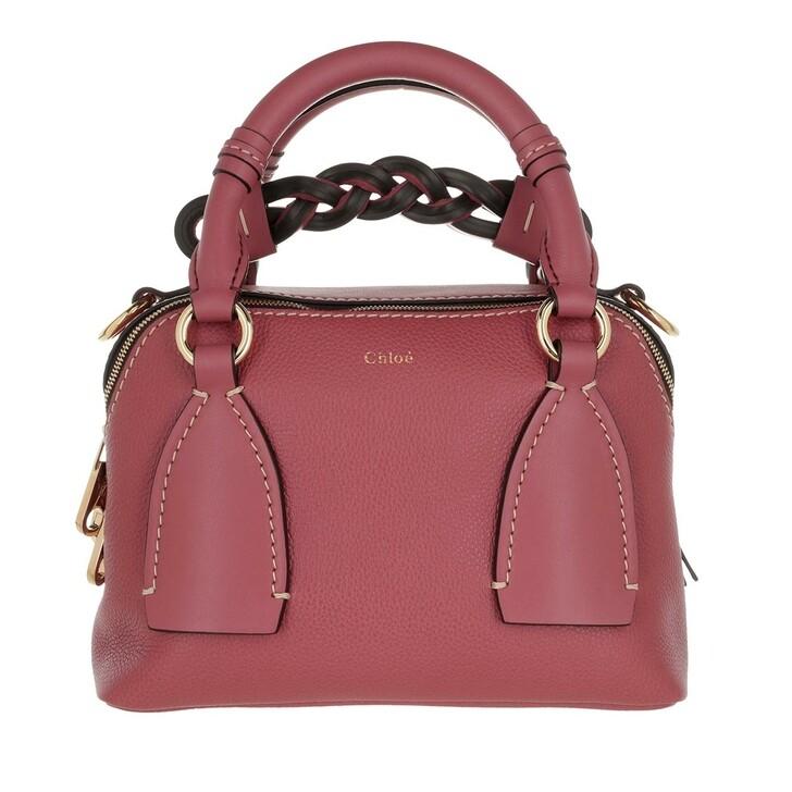 bags, Chloé, Daria Shoulder Bag Small Rosa