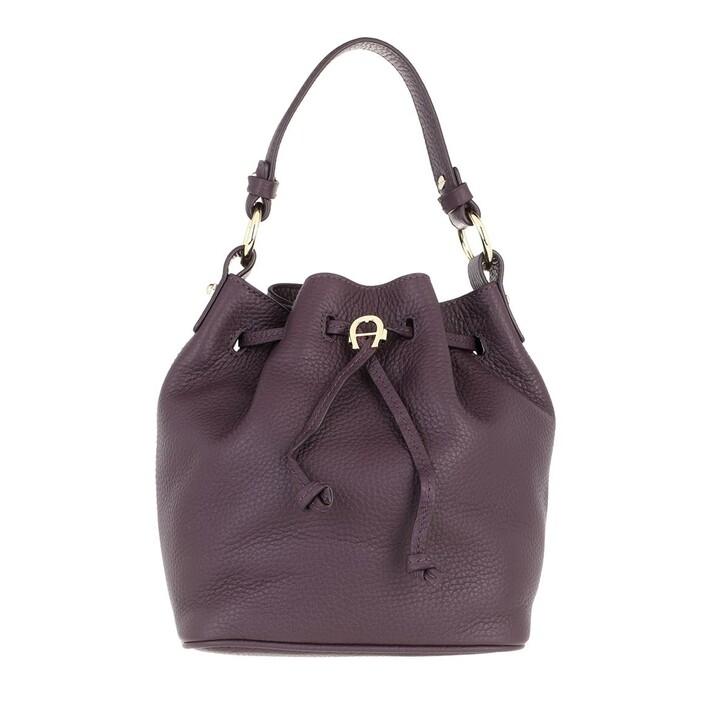 bags, AIGNER, Tara Crossbody Bag Plum