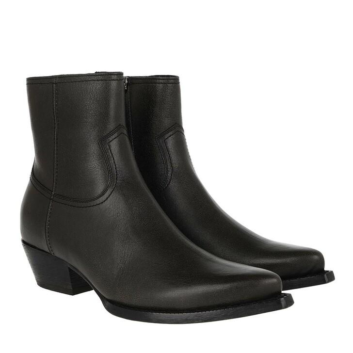 Schuh, Saint Laurent, Lukas Boots Leather Men Charcoal