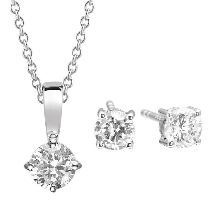 Kette, Sif Jakobs Jewellery, Princess Round Set Silver