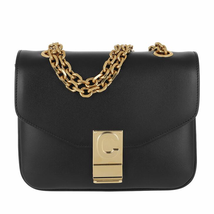 Handtasche, Celine, C Bag Small Shiny Calfskin Black