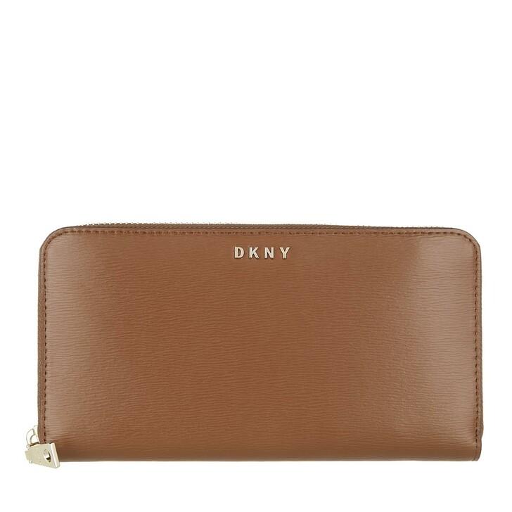 Geldbörse, DKNY, Bryant New Zip Around Caramel