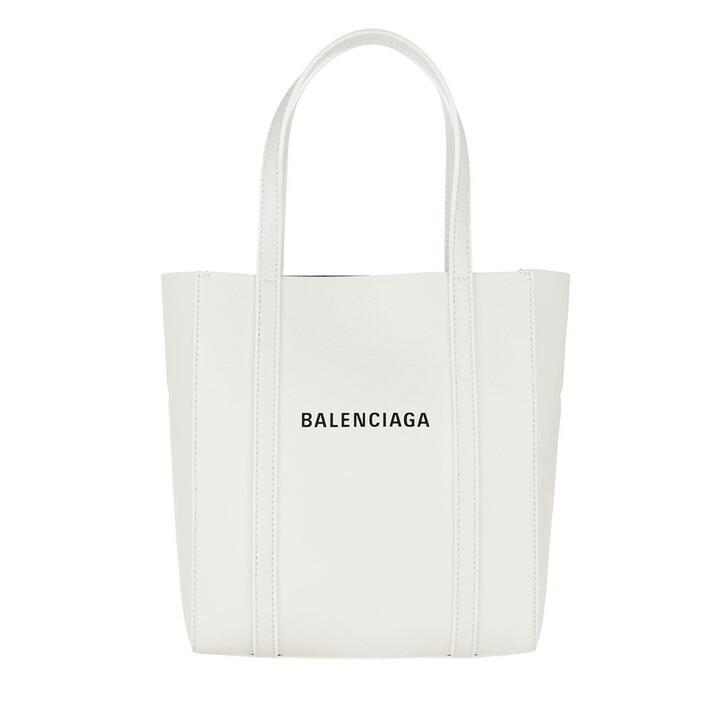 Handtasche, Balenciaga, Everday Shopper XXS White/Black