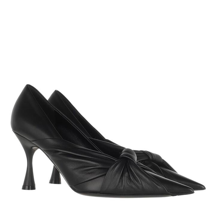 Schuh, Balenciaga, Drapy Pump Smooth Nappa Black