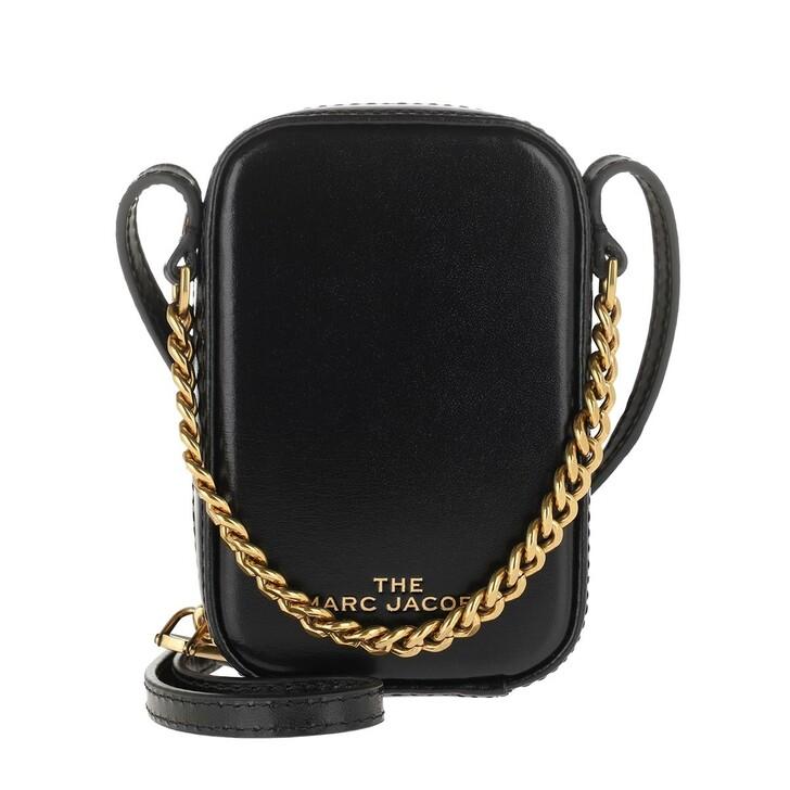 Handtasche, Marc Jacobs, The Mini Vanity Crossbody Bag Black