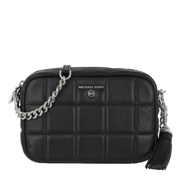 Handtasche, MICHAEL Michael Kors, Jet Set Charm Medium Camera Bag Black