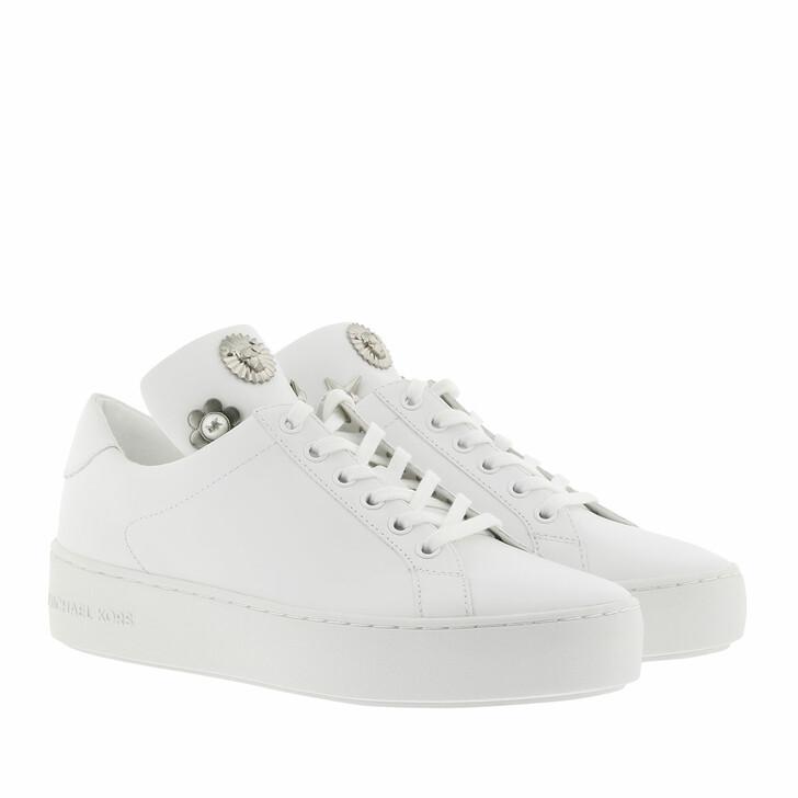 shoes, MICHAEL Michael Kors, Mindy Lace Up  Optic White