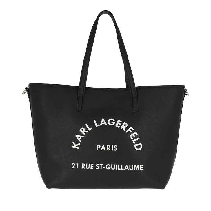 Handtasche, Karl Lagerfeld, Rue Saint Guillaume Tote Black