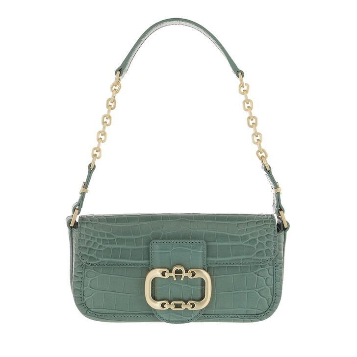 bags, AIGNER, Celia Mini Bag Dusty Green