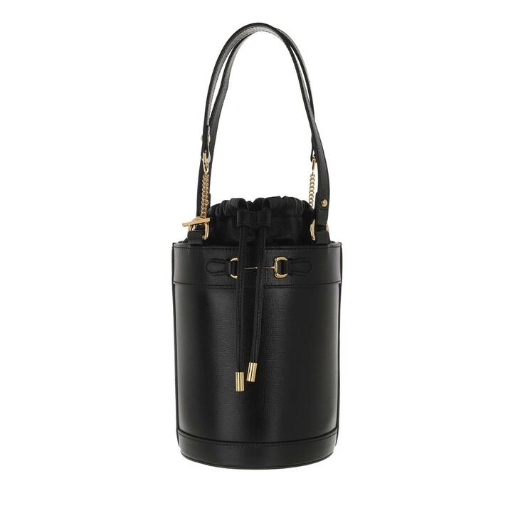 bags, Gucci, Small Horsebit 1955 Bucket Bag Black