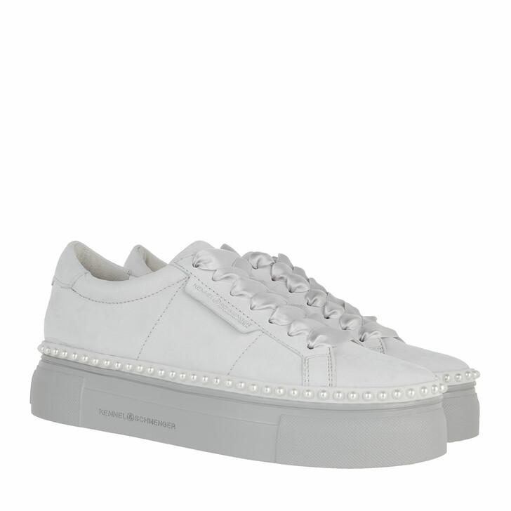 Schuh, Kennel & Schmenger, Nano Pearl Sneakers Soft Nubuk                     light Slt.gr-prl