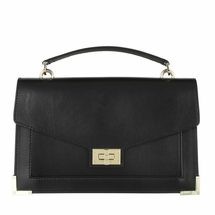 bags, The Kooples, Emily Medium Satchel Black