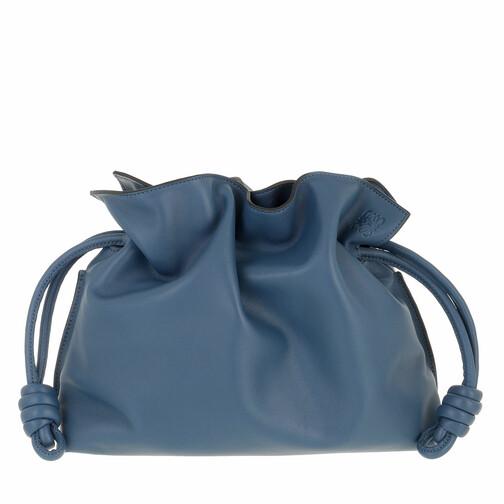 loewe -  Clutches - Flamenco Clutch - in blau - für Damen