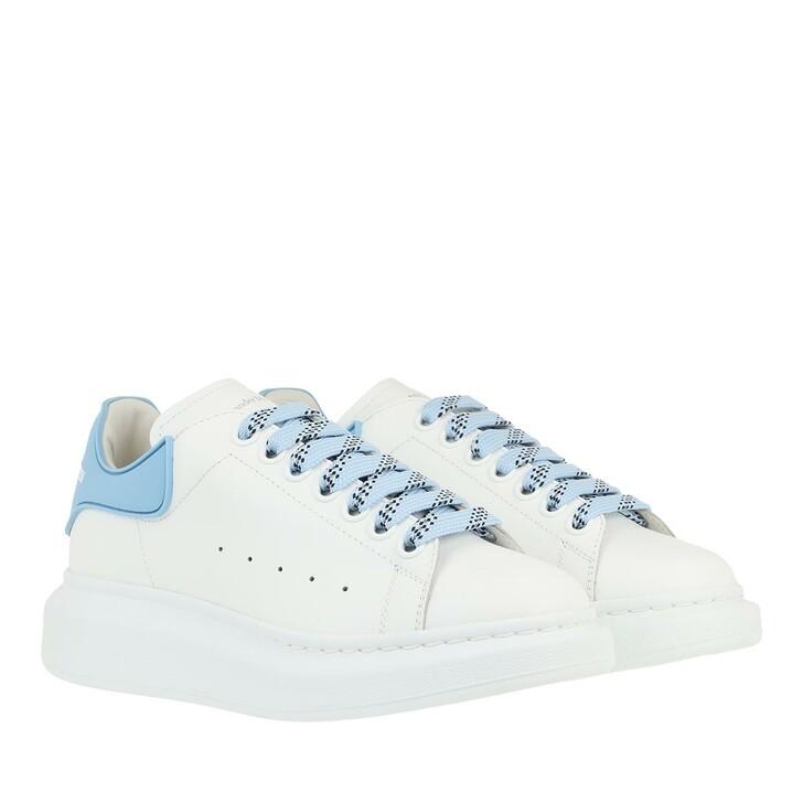 Schuh, Alexander McQueen, Oversized Sneakers White Blue