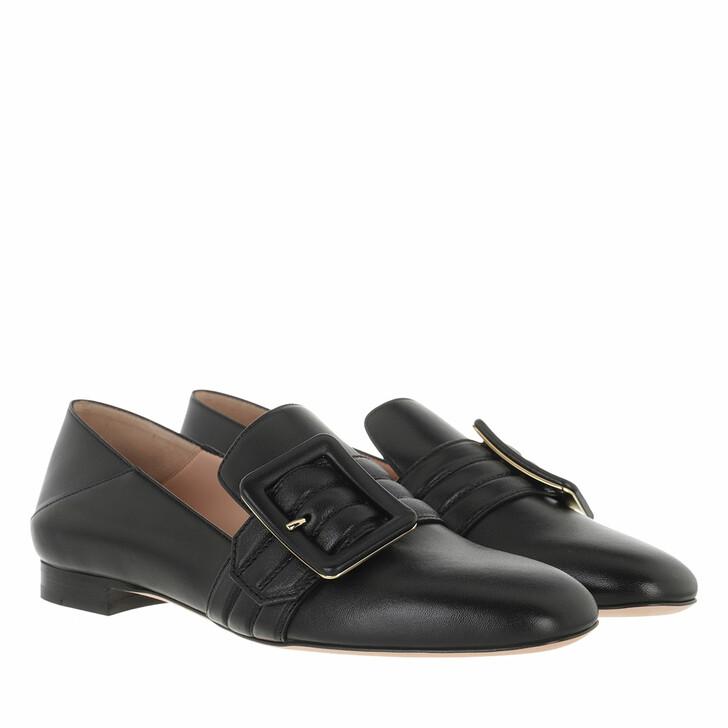 shoes, Bally, Slipper Janelle-Bombe Black