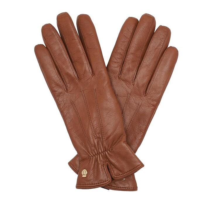 Handschuh, Roeckl, Antwerpen Gloves Saddlebrown