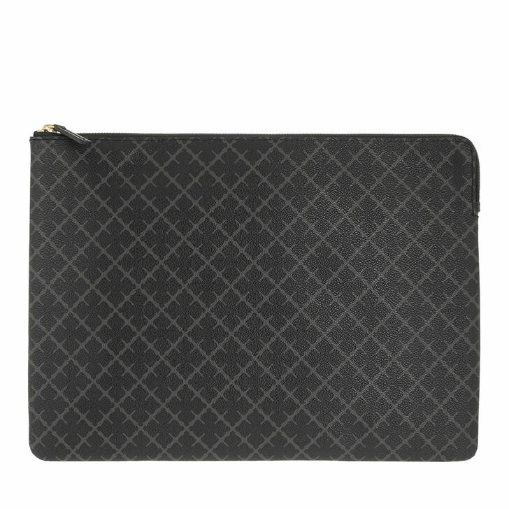 bags, By Malene Birger, Ivy Laptop Small Pvc Handbag  Charcoal