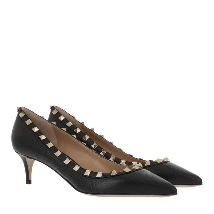 Schuh, Valentino Garavani, Rockstud Pump 80 Black
