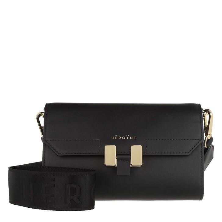 Handtasche, Maison Hēroïne, Carrie Crossbody Bag Black