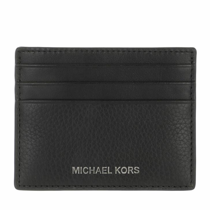 Geldbörse, MICHAEL Michael Kors, Tall Card Case Black