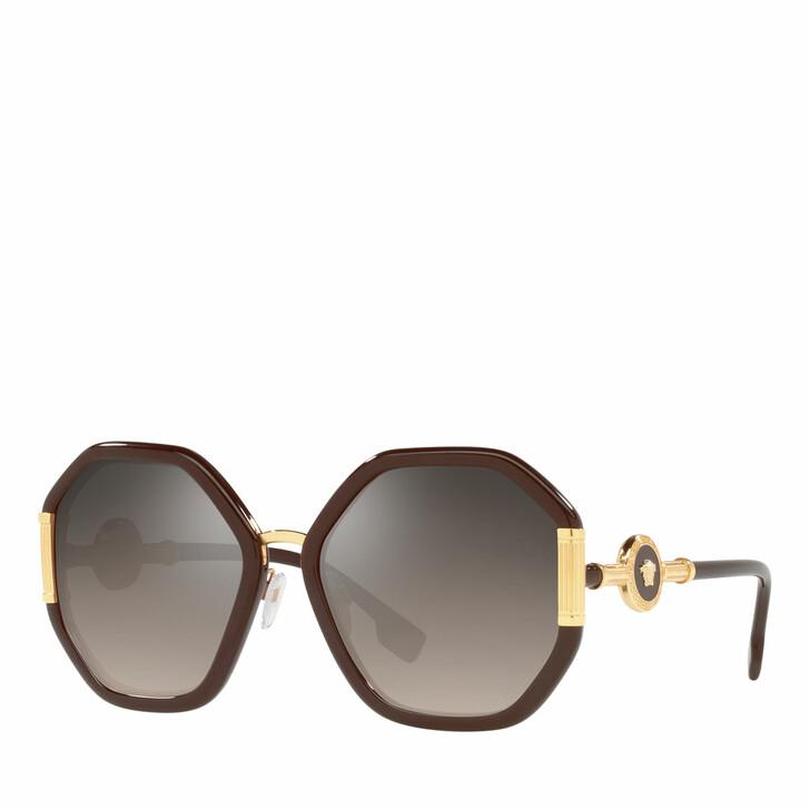 sunglasses, Versace, Woman Sunglasses 0VE4413 Transparent Brown