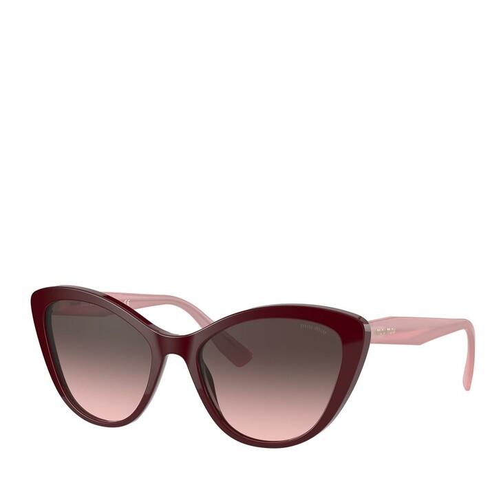 sunglasses, Miu Miu, AZETAT WOMEN SONNE BORDEAUX