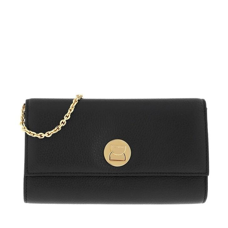 Handtasche, Coccinelle, Liya Chain Wallet Leather  Noir