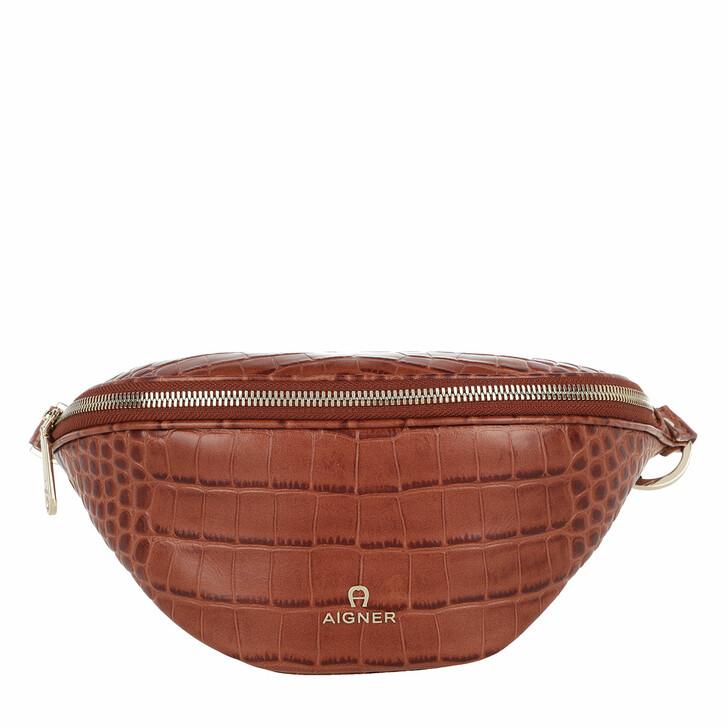 Handtasche, AIGNER, Belt Bag   Cognac