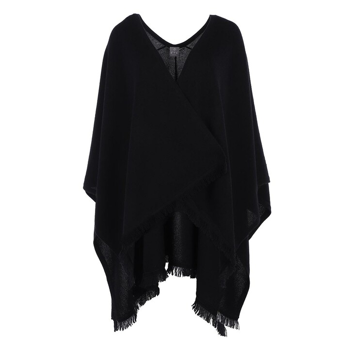 scarves, FTC Cashmere, Poncho RN Moonless Night