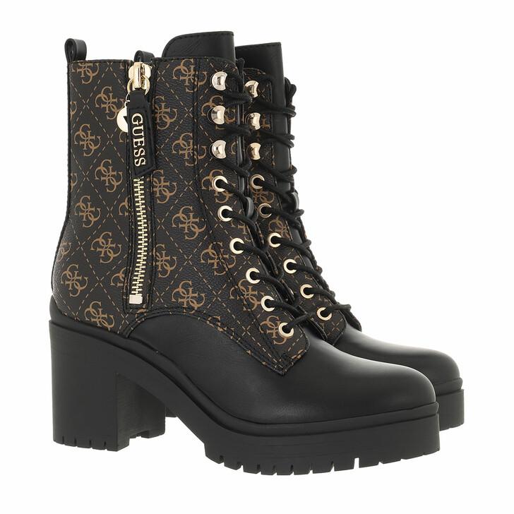 shoes, Guess, Lea Dress Bootie Brown/Ocra