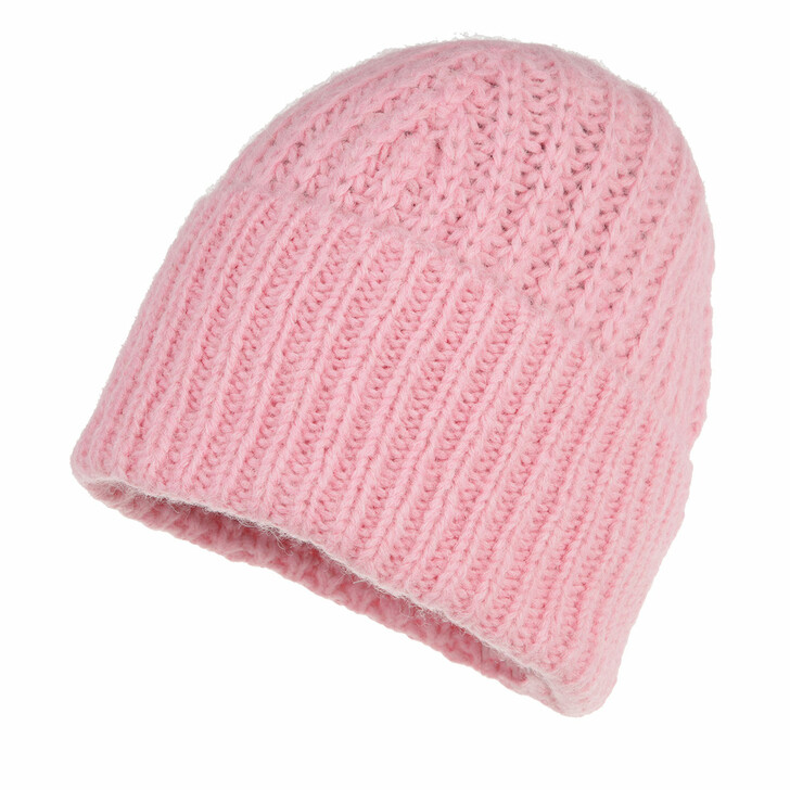 hats, Closed, Knitted Hat Candy Pink