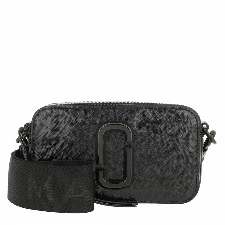 bags, Marc Jacobs, The Snapshot DTM Small Camera Bag Black