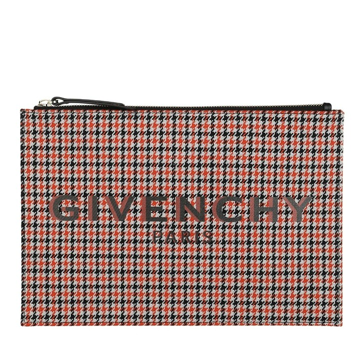 Handtasche, Givenchy, Medium Pouch Checked Multi