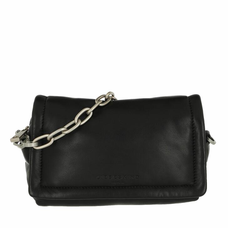 Handtasche, Liebeskind Berlin, Paulina Crossbody Small Black