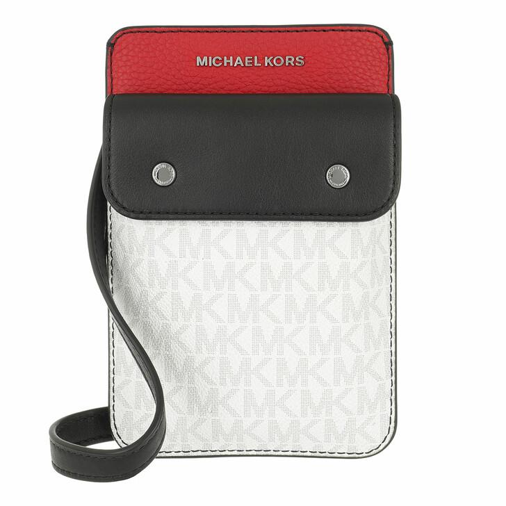 bags, MICHAEL Michael Kors, Hybrid Tech Xbody Black/Red