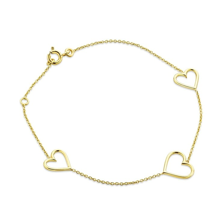 Armreif, DIAMADA, 9KT Bracelet Yellow Gold