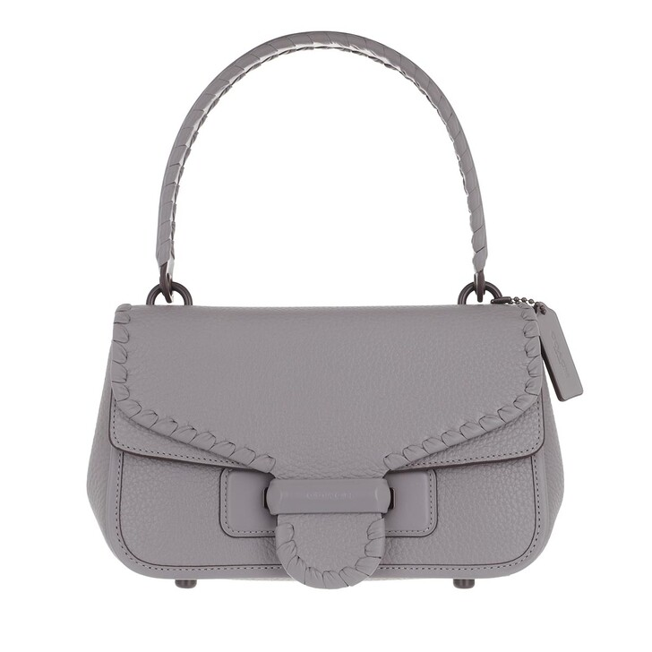 bags, Coach, Whipstitch Leather Cody Shoulder Bag Granite