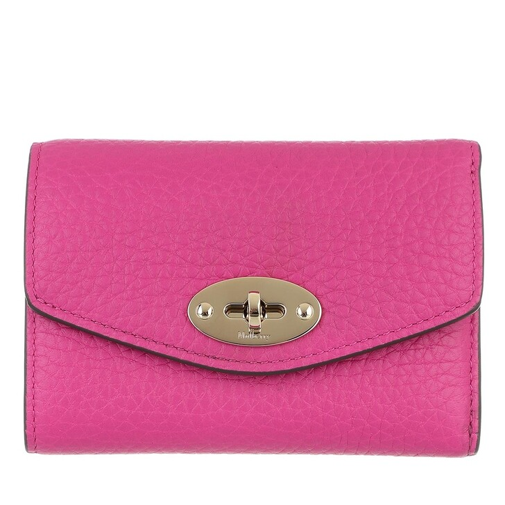 wallets, Mulberry, Darley Folded Multi-Card Wallet Mulberry Pink