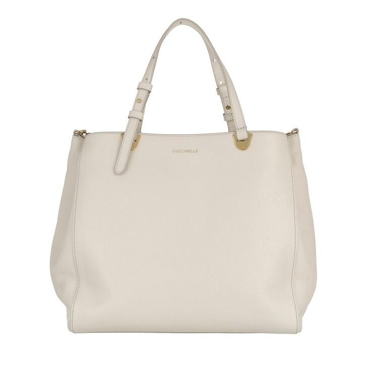 Handtasche, Coccinelle, Lea Tote Bag Lambskin White