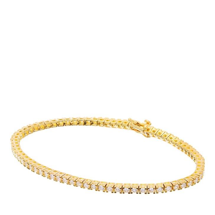 Armreif, BELORO, 2,34ct Diamond Tennis Bracelet Yellow Gold